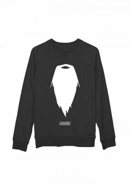 Moustache Gandalf - Sweat Femme