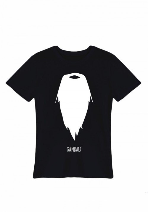 Moustache Gandalf  Tee-shirt Homme