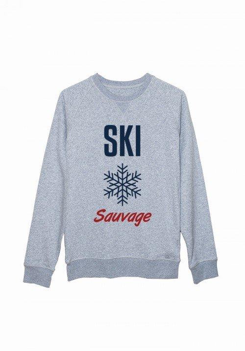 Ski Sauvage - Sweat Homme