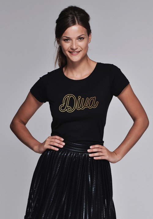 DIVA T-shirt Femme