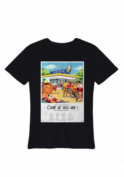 Come as you are Tee-shirt Homme