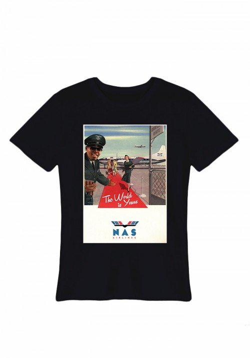 Nas Airline Tee-shirt Homme