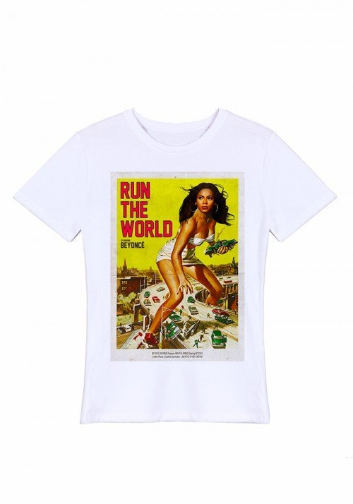 Run the world Tee-shirt Homme