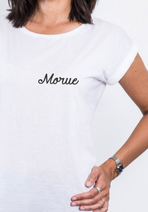 Morue T-shirt femme col rond
