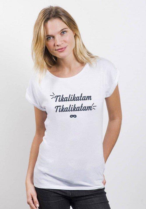 Tikalikatam - T-shirt manches retroussées