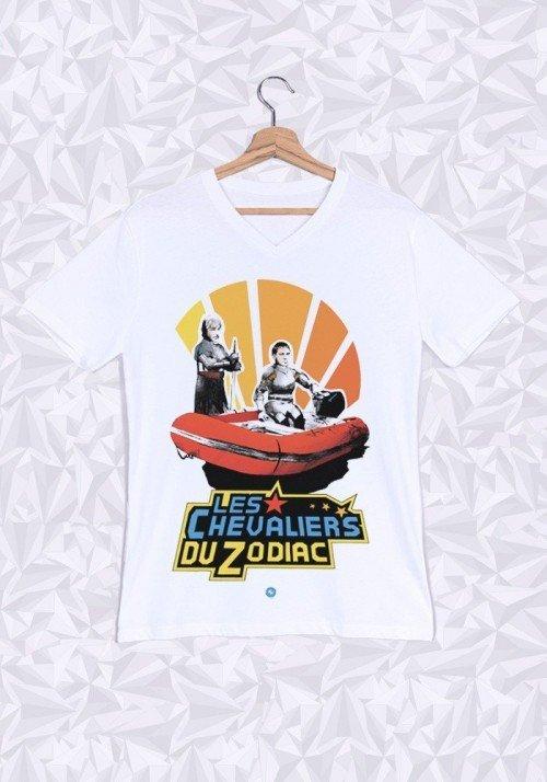 Le Zodiac T-shirt Homme Col V