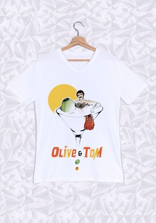 Le Tom T-shirt Homme Col V