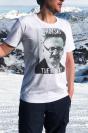 Trotski tue le ski T-shirt Homme Col Rond
