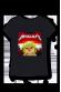 Metallicat - Tshirt Femme