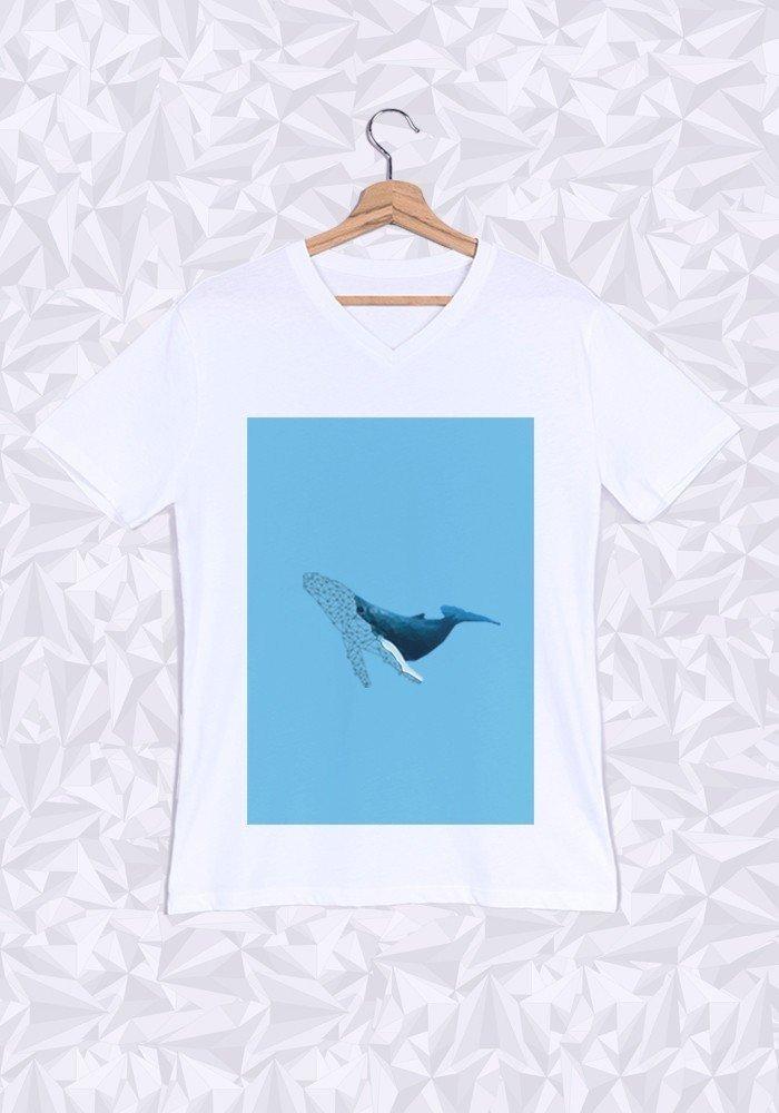Tshirts Homme CV Baleine ManiOne