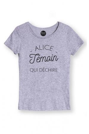 fournir beaucoup de sélectionner pour l'original vente en ligne Alice témoin qui déchire - T-shirt…