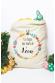 Sacs en toile à personnaliser pour Pâques - Lapin couronne