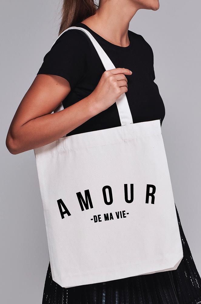 Tote Bag - Amour de ma vie e2c9ea9b5a5b