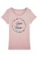 Super témoin fleur bleue - T-shirt Femme