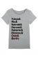 Casa Del Spoil T-shirt femme col rond