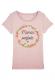Maman fleurs - T-shirt femme à personnaliser