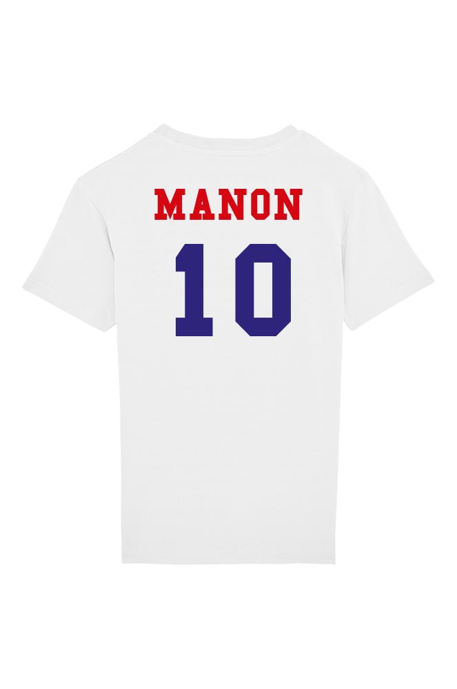 8602a90847a85 ... Maillot Foot France Personnalisable - T-shirt Enfant ...