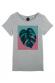 Feuille bicolore - T-shirt Femme