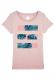 Rayure palme - T-shirt Femme