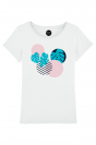 Tropicak Geometry- T-shirt Femme