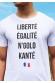 Liberté égalité N'golo Kanté - T-shirt Homme