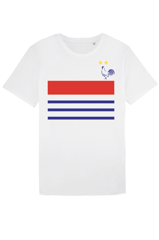 latest discount outlet store reasonably priced T-shirt pour Homme France 2018 avec 2 étoiles - Collection FOOT