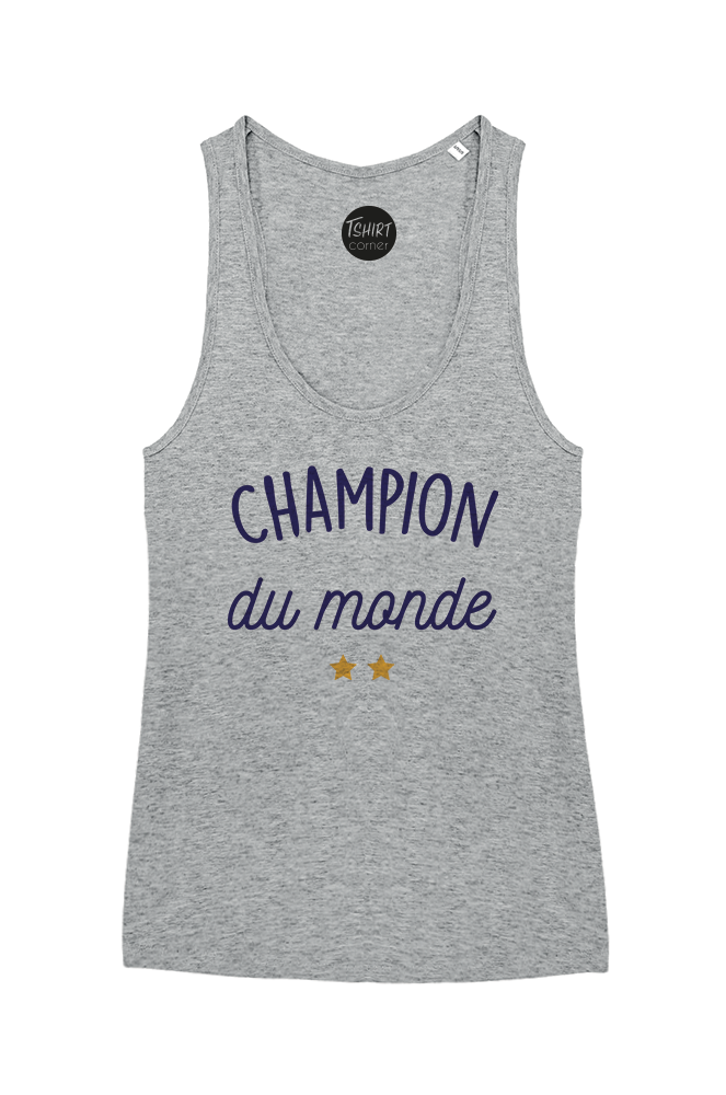available huge discount buying cheap Débardeur Femme Col Rond Champion du Monde