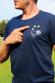 COQ FRANÇAIS 2 ETOILES - T-shirt Homme (non officiel)