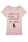 ne remet pas à demain T-shirt femme Col Rond
