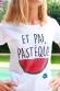 Pastèque T-shirt Femme Col Rond