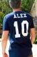 Tshirt Foot Premium - Personnalisable France 2 étoiles ( non officiel) - T-shirt Homme