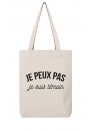 Je peux pas je suis témoin - Tote Bag