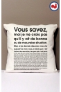 Vous savez Coussin Made in France Bio
