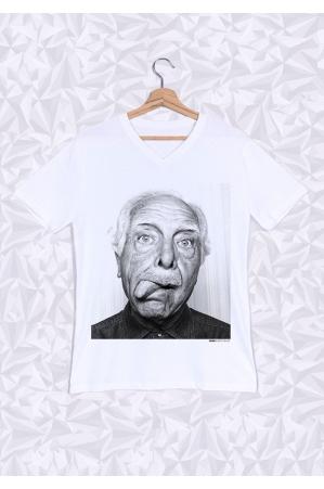 Antonin T-shirt Homme Col V