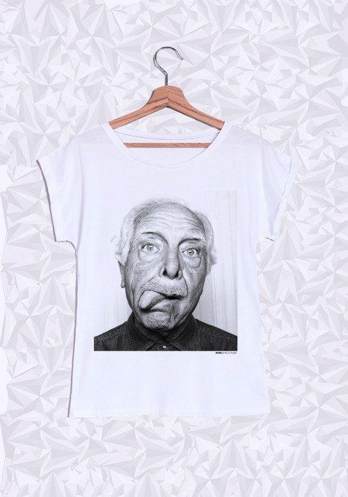 Antonin T-shirt Femme Manches Retroussées