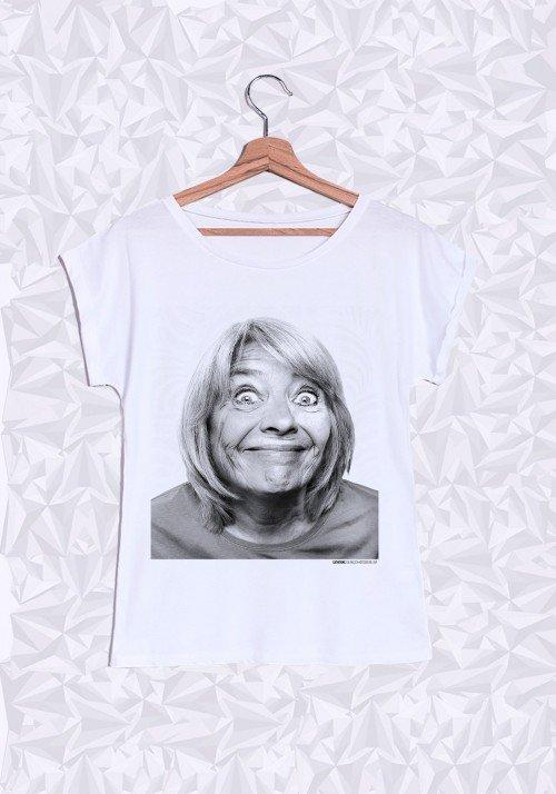 Catherine T-shirt Femme Manches Retroussées