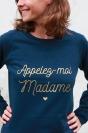 Appelez-moi Madame - Sweat Doré Femme