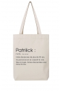 Patriiick définition - Tote Bag
