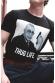 Thug Derrick - T-shirt Homme Col Rond