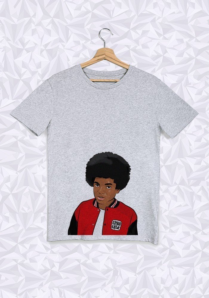 Tshirts Homme Michael Jackson Afro Buste