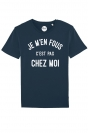 Je m'en fous je suis pas chez moi - T-shirt Homme