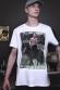 Y'A LE BON ET LE MAUVAIS CHASSEUR T-shirt Homme Col Rond