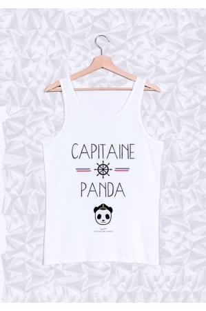 Capitaine Panda Débardeur Homme