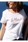 La mariée Or rose - T-shirt Femme pour Mariage