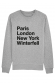 Paris Winterfell Sweat homme
