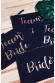 Team Bride - Pochette pour Mariage