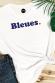 Bleues - T-shirt Femme