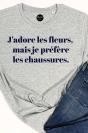 J'adore les fleurs - T-shirt Femme