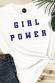 Girl Power -T-shirt Femme