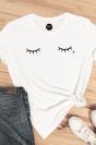 Cils - T-shirt coupe droite